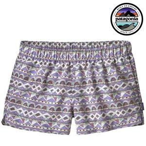 Patagonia Barely Baggies Shorts in Violet / Blue
